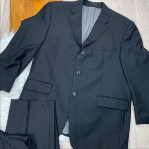 Calvin Klein Suits & Blazers - Calvin Klein Men Two Piece Black One Button Suit